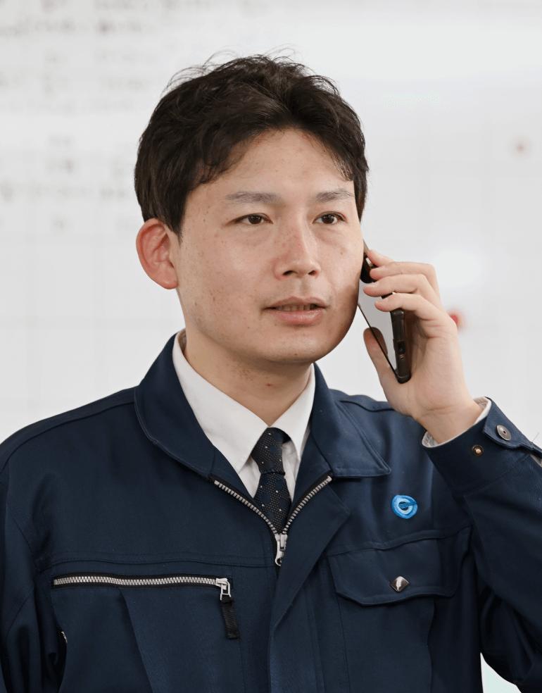 営業部部長代理 品川 雅昭