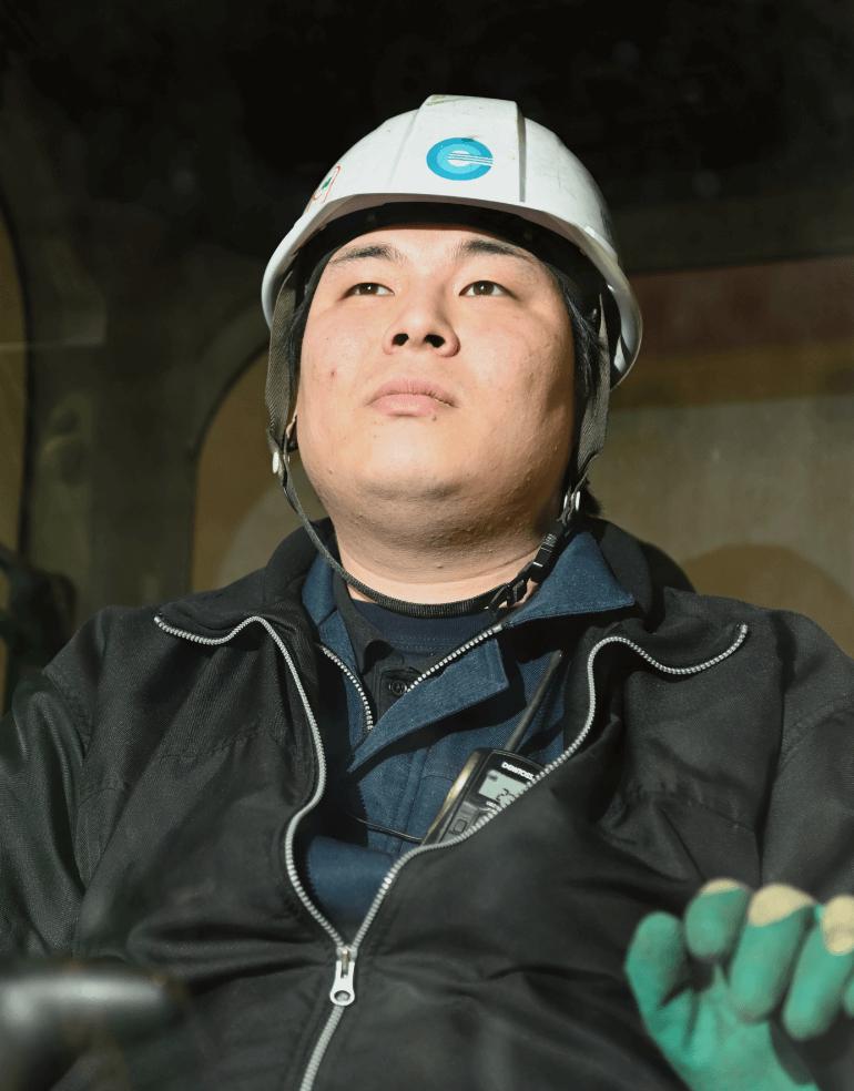 (株)エコ・クリーン 製造事業リーダー 館 滝次