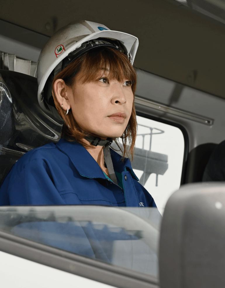 (株)エコロジス地場担当 片岡 真奈美